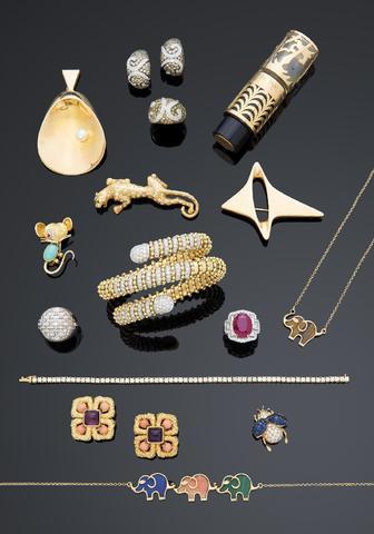 """Vente de spécialité """"BIJOUX & ART RUSSE"""" semestrielle. Bijoux anciens"""