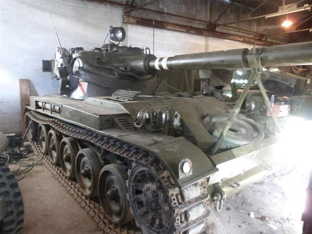 CHAR D'ASSAUT AMX 13, char léger français produit à 7 700 exemplaires