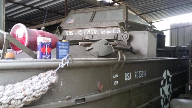 Rare GMC DUKW 353 amphibie à 6 roues. Utilisés lors de la guerre