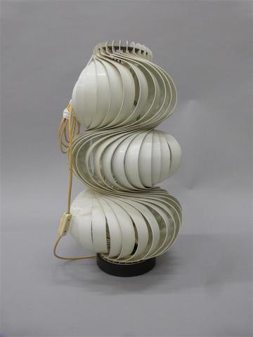 Lampe Médusa de Olaf von Bohr. H : 67 cm