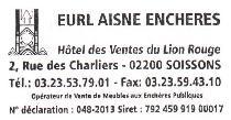 logo Maître Bruce ROELENS et EURL Aisne Enchères