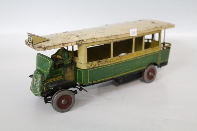 Charles ROSSIGNOL. C.R. UNIS France. Autobus parisien mécanique en