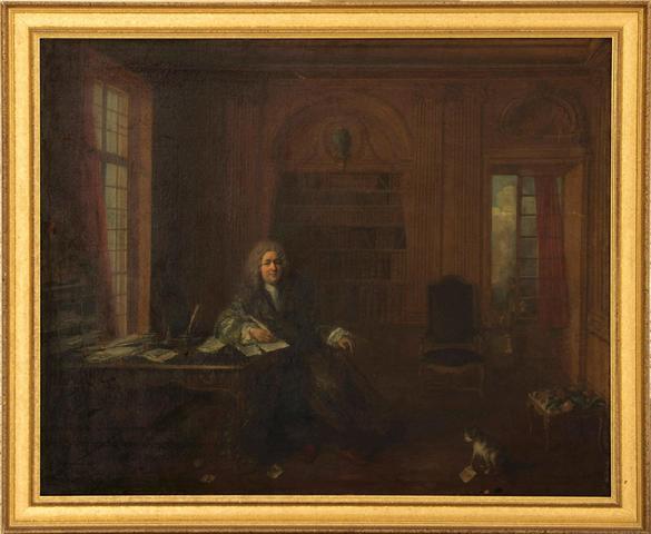 Nicolas LANCRET (1690-1743), attribué à. Portrait présumé de Louis