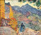 Louis VALTAT (1869-1952)  Espagne - 1896  Huile sur toile  Signé