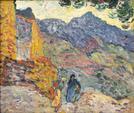 Louis VALTAT (1869-1952). Espagne - 1896. Huile sur toile. Signé