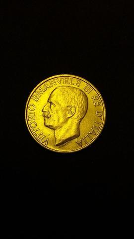 une pièce en or de 20 lires Vittorio Emanuel III