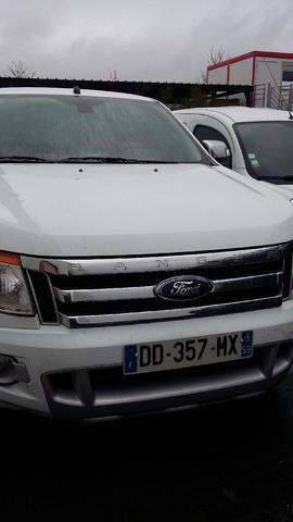 Ctte Ford Ranger double cab ltd, break, go, du 28/02/2014 immatriculation
